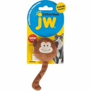 JW Pet Cataction Plush Catnip Monkey