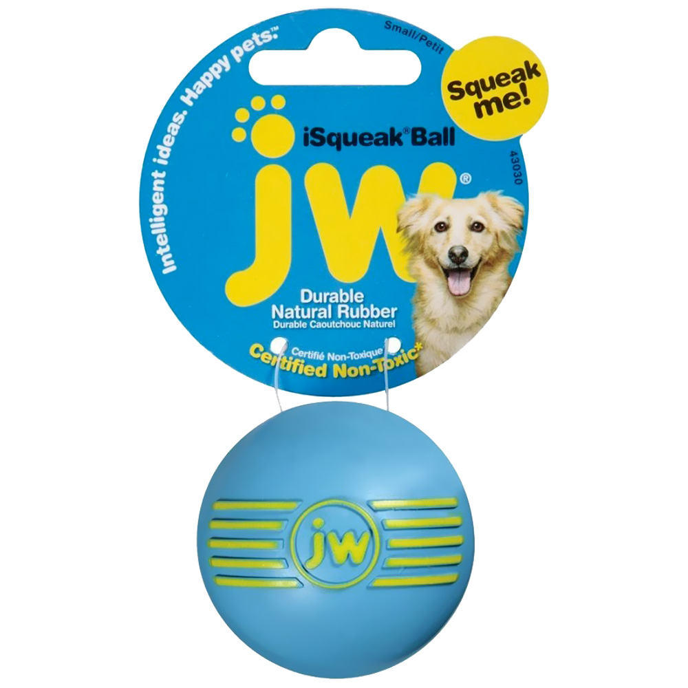 JW Pet iSqueak Ball - Small (Assorted)