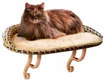 "K&H Deluxe Kitty Sill Deluxe with Bolster (14""x24"")"