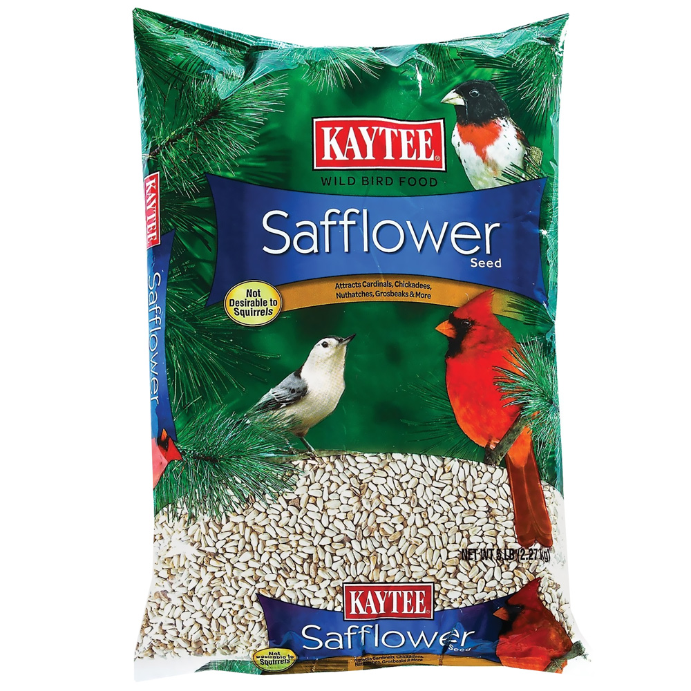 Kaytee Wild Bird Food Safflower Seed (5 lbs)