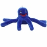 Kyjen Octopus Squeaker Dog Toy - Blue (Small)