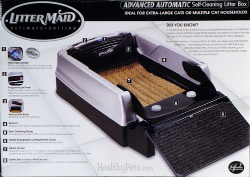 Littermaid Self Cleaning Cat Box How To Remove Rake