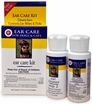 Miracle Care R-7 Ear Care Kit for Dogs & Cats  (2oz R-7 Cleaner, 2oz R-7 Ear Mite Treatment)
