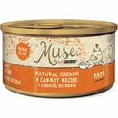 Muse Natural Chicken & Carrot Cat Food Pate - Single
