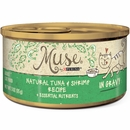 Muse Natural Tuna & Shrimp Cat Food in Gravy - Single