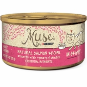 Muse Natural Salmon with Tomato & Spinach Cat Food in Gravy - Single