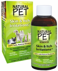 Natural Pet Pharmaceuticals Skin & Itch Irritation for Cats (4 oz)