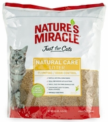 Nature's Miracle Just For Cats Natural Care Cat Litter (10 lbs)