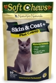 Naturvet Cat Skin & Coat Plus Catnip (50 soft chews)