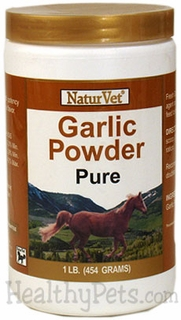 NaturVet Pure Garlic Powder - 1 lb. FOR HORSES