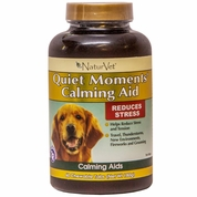 NaturVet Quiet Moments - Calming Aid (60 Tabs)