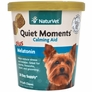 NaturVet Quiet Moments Calming Aid Plus Melatonin (70 Soft Chews)