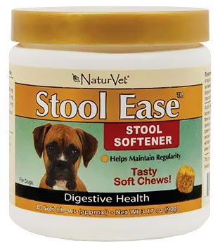Naturvet Stool Ease Soft Chew 30 Count