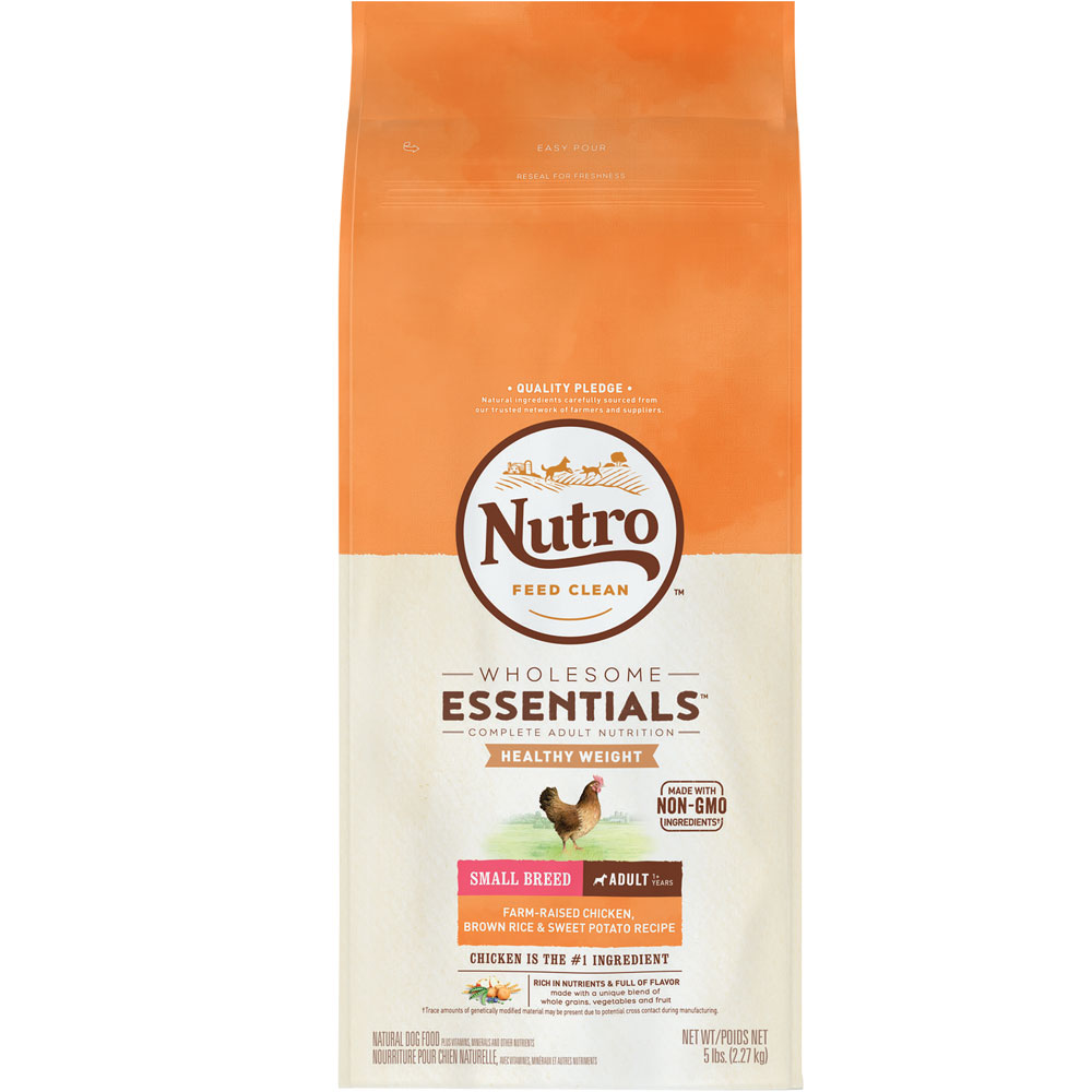 Nutro Natural Choice Chicken Brown Rice Oatmeal Dog Food