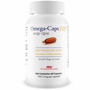 Omega-Caps™ HP snip tips for Cats & Smaller Dogs (60 Capsules)