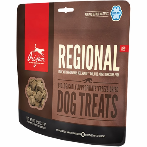 Orijen Freeze-Dried Regional Red Dog Treats (3.5 oz)