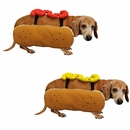 Otis and Claude Fetching Fashion Hot Diggity Dog Costumes