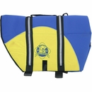 Paws Aboard Pet Life Jacket - Blue/Yellow Neoprene (XLarge)