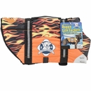 Paws Aboard Pet Life Jacket - Racing Flames (Large)