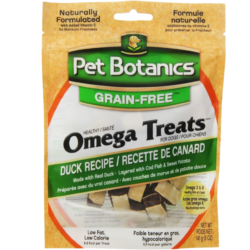 Pet Botanics Healthy Omega Treats - Duck (5 oz)