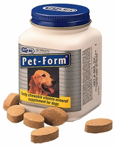 Pet-Form (50 tablets)