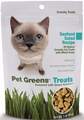 Pet Greens Crunchy Cat Treats Seafood Salad (3 oz)