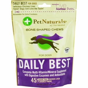 Pet Naturals Daily Best Chews for Dogs (45 count)