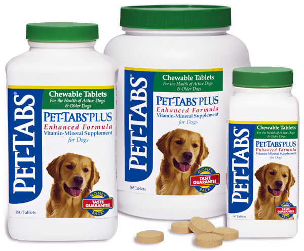 Pet Tabs and Pet Tabs Plus