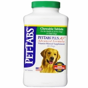 Pet-Tabs PLUS Daily Vitamin and Mineral Supplement for Dogs - 180 Tabs
