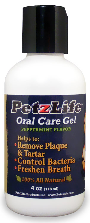 Petzlife Oral Care Gel Peppermint Flavor (4 oz)