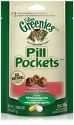 Pill Pockets for Cats SALMON 1.6 oz (45 pockets)