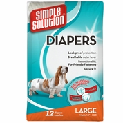 Simple Solution Diapers L (12 Diapers)