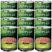 Purina Pro Plan Select - Turkey & Sweet Potato Entr�e Canned Adult Dog Food (12x13 oz)