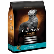 Purina Pro Plan Savor - Shredded Blend Tuna & Rice Dry Adult Dog Food (6 lb)