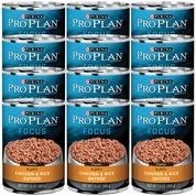 Purina Pro Plan Focus - Chicken & Rice Entr�e Canned Puppy Food (12x13oz)
