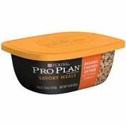 Purina Pro Plan Savory Meals - Braised Chicken Entr�e Adult Dog Food (10 oz)
