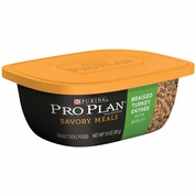 Purina Pro Plan Savory Meals - Braised Turkey Entr�e Adult Dog Food (10 oz)
