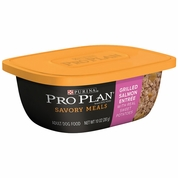 Purina Pro Plan Savory Meals - Grilled Salmon Entr�e Adult Dog Food (10 oz)
