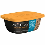 Purina Pro Plan Savory Meals - Grilled Ocean Whitefish  Entr�e Adult Dog Food (10 oz)