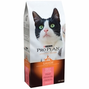 Purina Pro Plan Savor - Salmon & Rice Dry Adult Cat Food (7 lb)