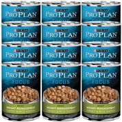 Purina Pro Plan Focus - Turkey & Rice Entr�e Canned Weight Management Adult Dog Food (12x13oz)