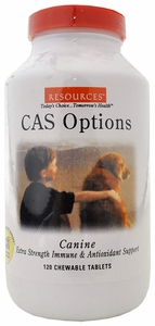 RESOURCES Canine CAS Options (120 Tablets)