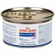 ROYAL CANIN Feline Renal Support D Wet Morsels in Gravy Can (24/3 oz)
