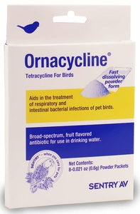 Sentry AV Ornacycline Powder for Birds (8 packets)