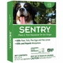 Sentry Flea & Tick Squeeze-On for Dogs over 66 lbs (4-PACK)