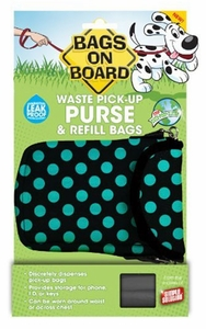 Simple Solution Bags on Board Waste Pick-Up Purse (15 refill bags)