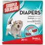 Simple Solution Disposable Diapers Small (30 pack)