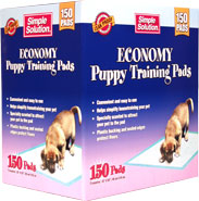 Simple Solution Economy Puppy Training Pads (150 ct)