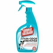 SIMPLE SOLUTION� Stain & Odor Remover for CATS & DOGS (32 fl oz)