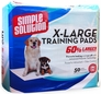 "Simple Solution Training Pads - Extra Large (50 Pad Pack 28"" x 30"")"